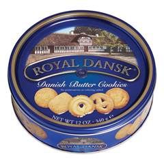 OFX53005 - Royal Dansk Danish Butter Cookies