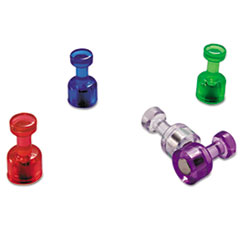 OIC92515 - Officemate Push Pin Magnets