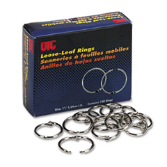 OIC99701 - Officemate Book Rings