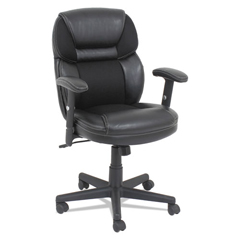OIFFL4213 - OIF Leather/Mesh Mid-Back Chair