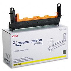 OKI41963401 - Oki 41963401 Drum, Type C5, Yellow