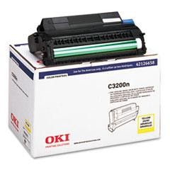 OKI42126658 - Oki 42126658 Drum Unit, Yellow