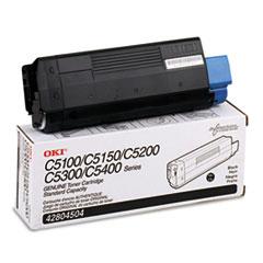 OKI42804504 - Oki 42804504 Toner (Type C6), 3000 Page-Yield, Black
