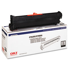 OKI42918104 - Oki 42918104 Drum, Type C7, Black
