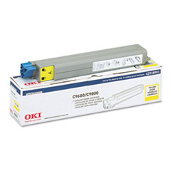 OKI42918901 - Oki 42918901 Toner (Type C7), 15000 Page-Yield, Yellow