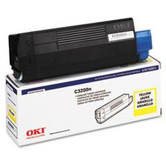 OKI43034801 - Oki 43034801 Toner (Type C6), 1500 Page-Yield, Yellow