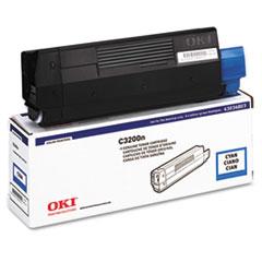 OKI43034803 - Oki 43034803 Toner (Type C6), 1500 Page-Yield, Cyan