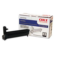 OKI43381720 - Oki 43381720 Drum Unit, Black
