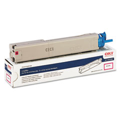 OKI43459302 - Oki 43459302 High-Yield Toner, 2000 Page-Yield, Magenta