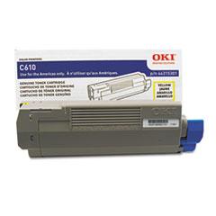 OKI44315301 - Oki 44315301 Toner, 6,000 Page-Yield, Yellow