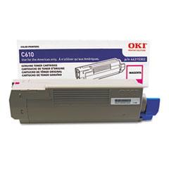 OKI44315302 - Oki 44315302 Toner, 6,000 Page-Yield, Magenta