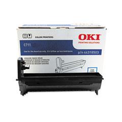 OKI44318503 - Oki 44318503 Drum, 20,000 Page-Yield, Cyan