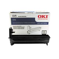 OKI44318504 - Oki 44318504 Drum, 20,000 Page-Yield, Black
