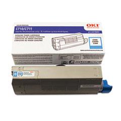 OKI44318603 - Oki 44318603 Toner, 11,500 Page-Yield, Cyan