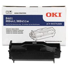 OKI44574309 - Oki 44574309 Drum, Black