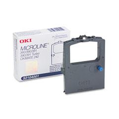OKI52104001 - Oki 52104001 Ribbon, Black