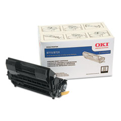 OKI52123602 - Oki 52123602 High-Yield Toner, 20,000 Page Yield, Black