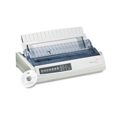 OKI62411701 - Oki® Microline® 321 Turbo Dot Matrix Impact Printer