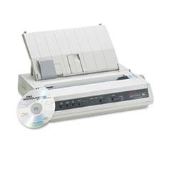 OKI62422301 - Oki® Microline ML186 Dot Matrix Printer (Parallel)