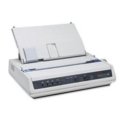 OKI62422401 - Oki® Microline ML186 Dot Matrix Printer (Serial)