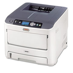 OKI62433403 - Oki® C610dn Laser Printer