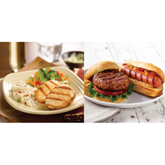 OMS40107 - Omaha SteaksBurgers, Boneless Chicken Breasts & Gourmet Jumbo Franks