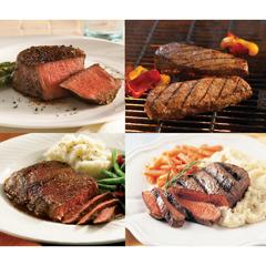 OMS40533 - Omaha SteaksFilet Mignons, Boneless Strips, Top Sirloins & Filet of Prime Rib - Ribeyes