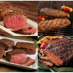 OMS40538 - Omaha SteaksFilet Mignons, Boneless Strips, Top Sirloins & Filet of Prime Rib - Ribeyes