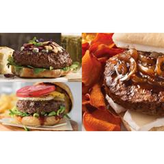 OMS4791 - Omaha Steaks - Filet Mignon Burger, Brisket Burgers, Gourmet Burgers