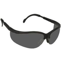 ORS135-KD112 - CrewsKlondike Black Frame Grey Lens Safety Spectacle