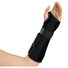 MEDORT18110LXL - Medline - Deluxe Wrist and Forearm Splint, 10 Left Extra-Large