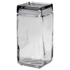 OSIGJ02Q - Office Settings Stackable Glass Storage Jars