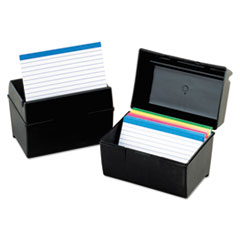 OXF01351 - Oxford® Plastic Index Card File