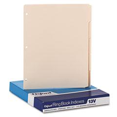 OXF13V - Oxford® Write-On Tab Dividers