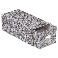 OXF40593 - Oxford® Reinforced Board Card File with Pull Drawer