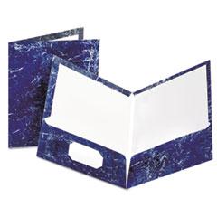 OXF51643 - Oxford® Marble Laminated Portfolio
