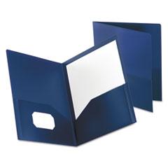 OXF57402 - Oxford® Poly Twin-Pocket Folder