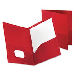 OXF57411 - Oxford® Poly Twin-Pocket Folder