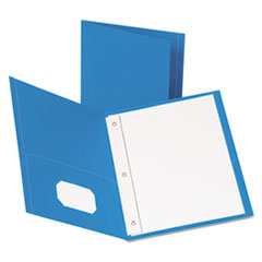 OXF57701 - Oxford® Twin-Pocket Portfolios with Tang Fasteners