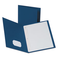 OXF57702 - Oxford® Twin-Pocket Portfolios with Tang Fasteners