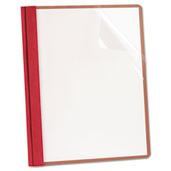 OXF57871 - Earthwise® by Oxford® 100% Recycled Clear Front Report Cover