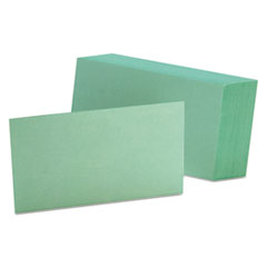 OXF7320GRE - Oxford® Index Cards