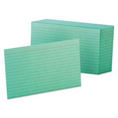 OXF7421GRE - Oxford® Index Cards