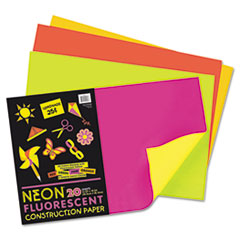 PAC104303 - Pacon® Neon® Construction Paper