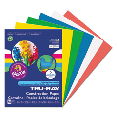 PAC6572 - Pacon® Tru-Ray® Construction Paper