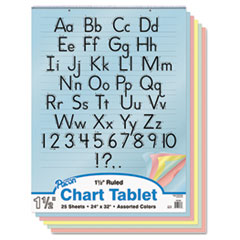 PAC74733 - Pacon® Colored Chart Tablets