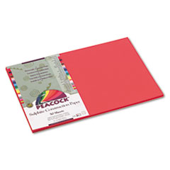 PACP6112 - Pacon® Peacock® Sulphite Construction Paper