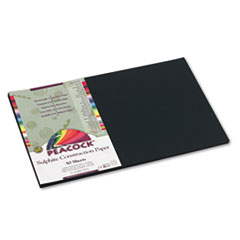 PACP6312 - Pacon® Peacock® Sulphite Construction Paper