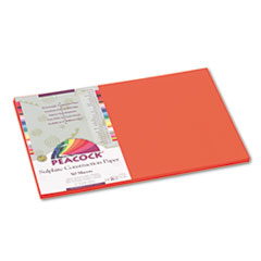 PACP6612 - Pacon® Peacock® Sulphite Construction Paper