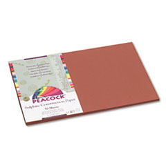 PACP6712 - Pacon® Peacock® Sulphite Construction Paper